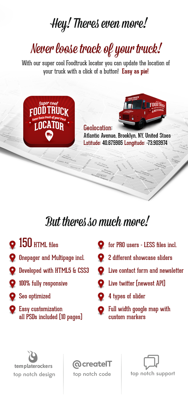 Food Truck & Restaurant 20 Styles - WP Theme Download