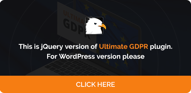 Ultimate GDPR Compliance jQuery Toolkit - 8