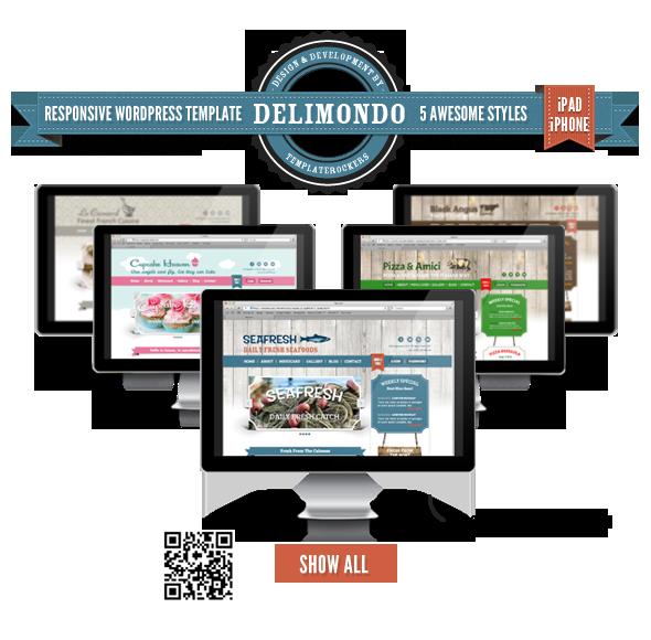 Delimondo Responsive WordPress Theme   5 Styles - 8
