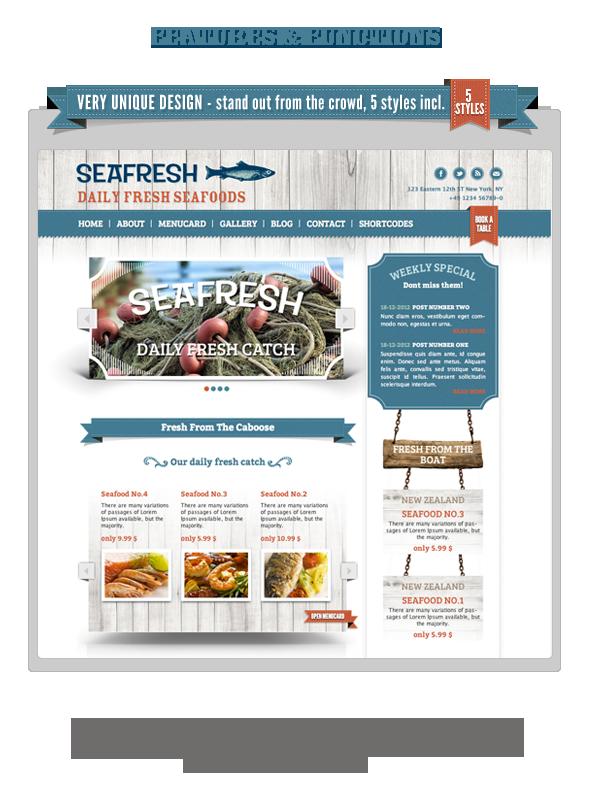 Delimondo Responsive WordPress Theme   5 Styles - 9